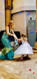 Children's party london | Mermaid dancing