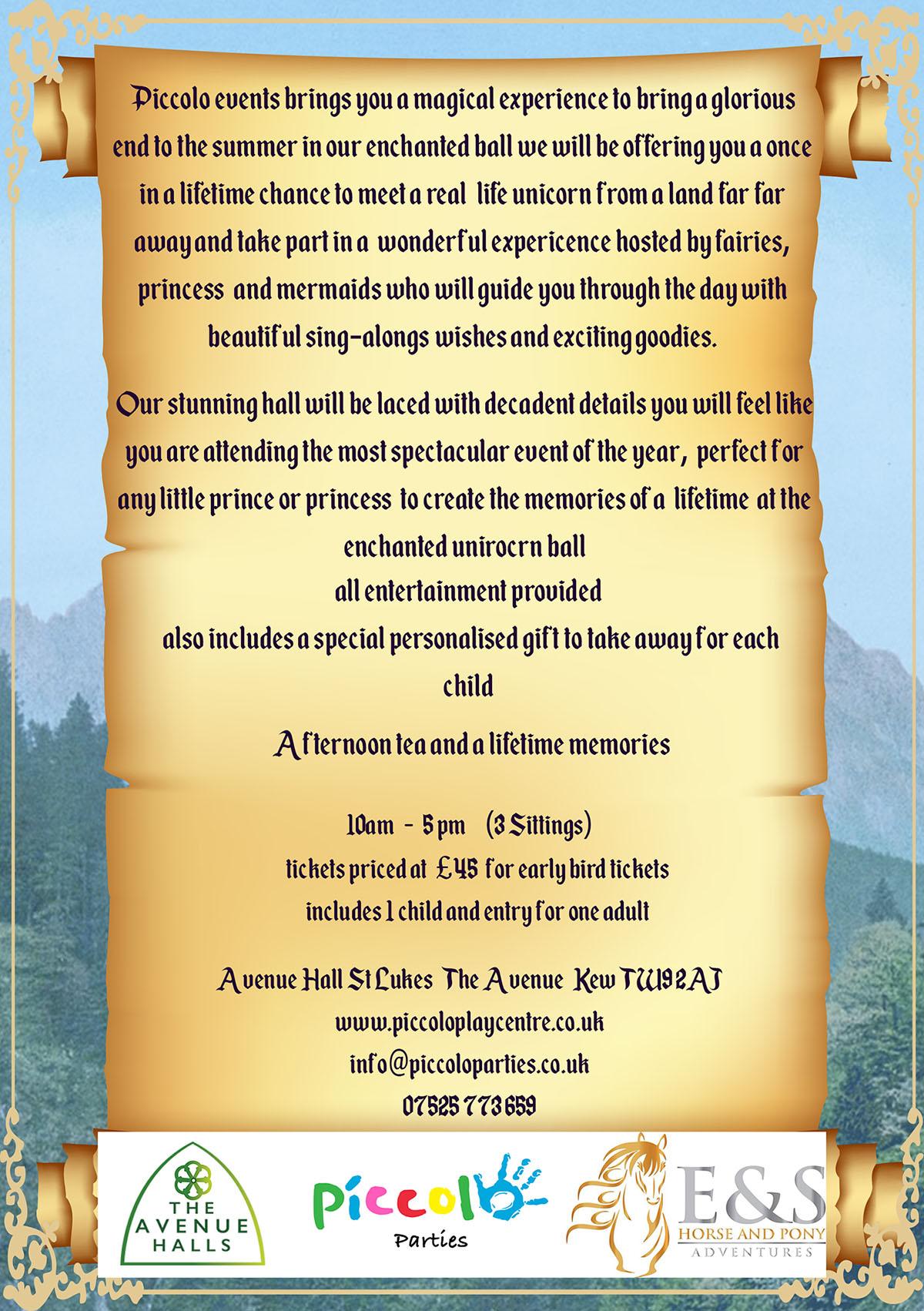 Enchanted Flyer Details